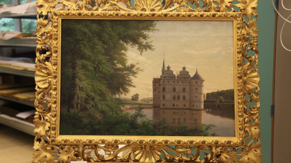 Egeskov maleri efter