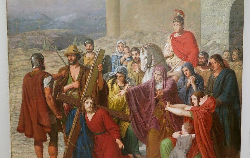 Sevel Kirke maleri efter